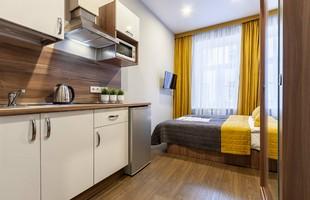 Democrat on Nevskiy 130 Apartment, Апартаменты Компакт - photo #2